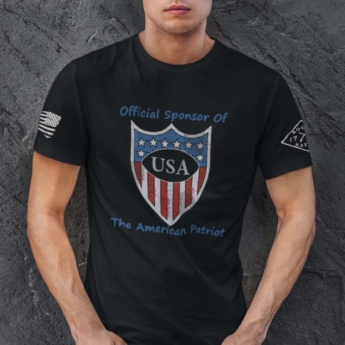February Club USA Shield Men's T-shirt