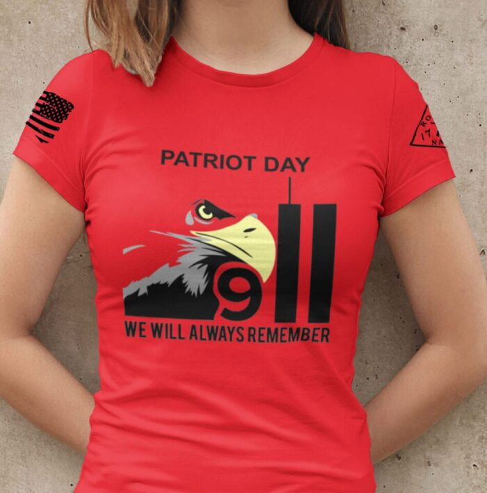 Patriot Day 2020 on Women's Red T-Shirt