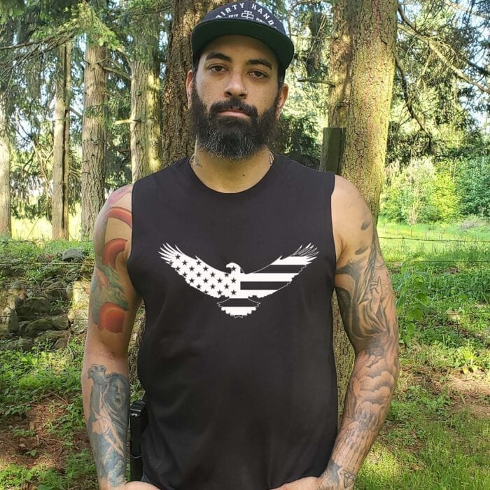 American Eagle on Men's Muscle Tank