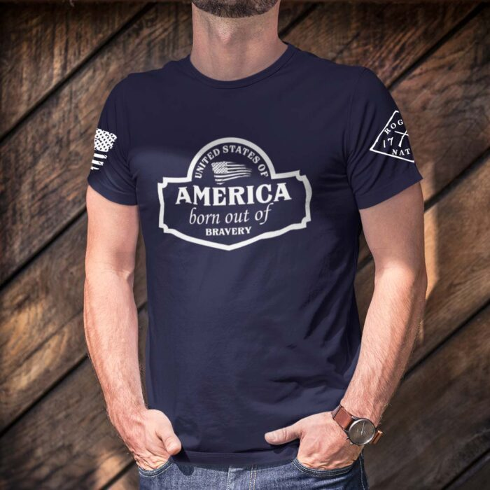 September Club Shirt on Men's Navy Blue T-Shirt