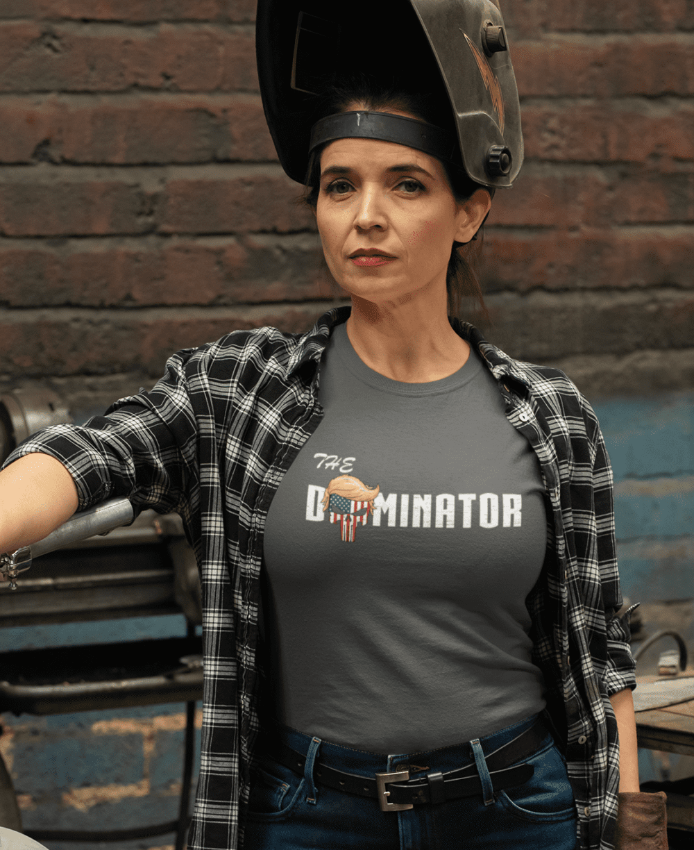 The Dominator in a Charcoal Women's T Shirt