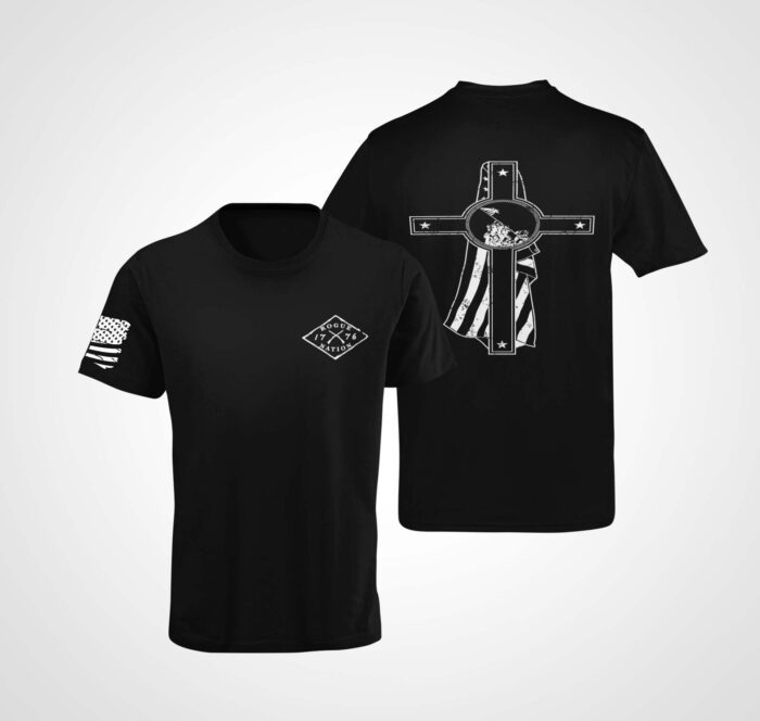 Memorial Day T-Shirt on a Mens Black