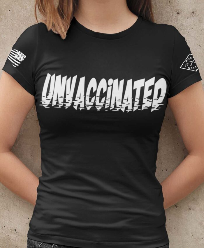 Unvaccinated T-Shirt Women's in Black