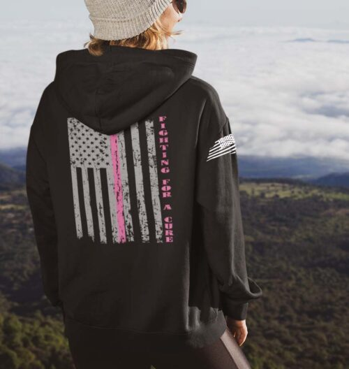 Fighting for a cure on a Black Hoodie