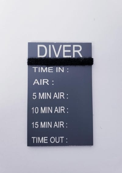 New diver tag pic