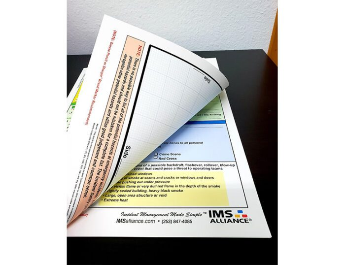 IMS Tear off Sheets