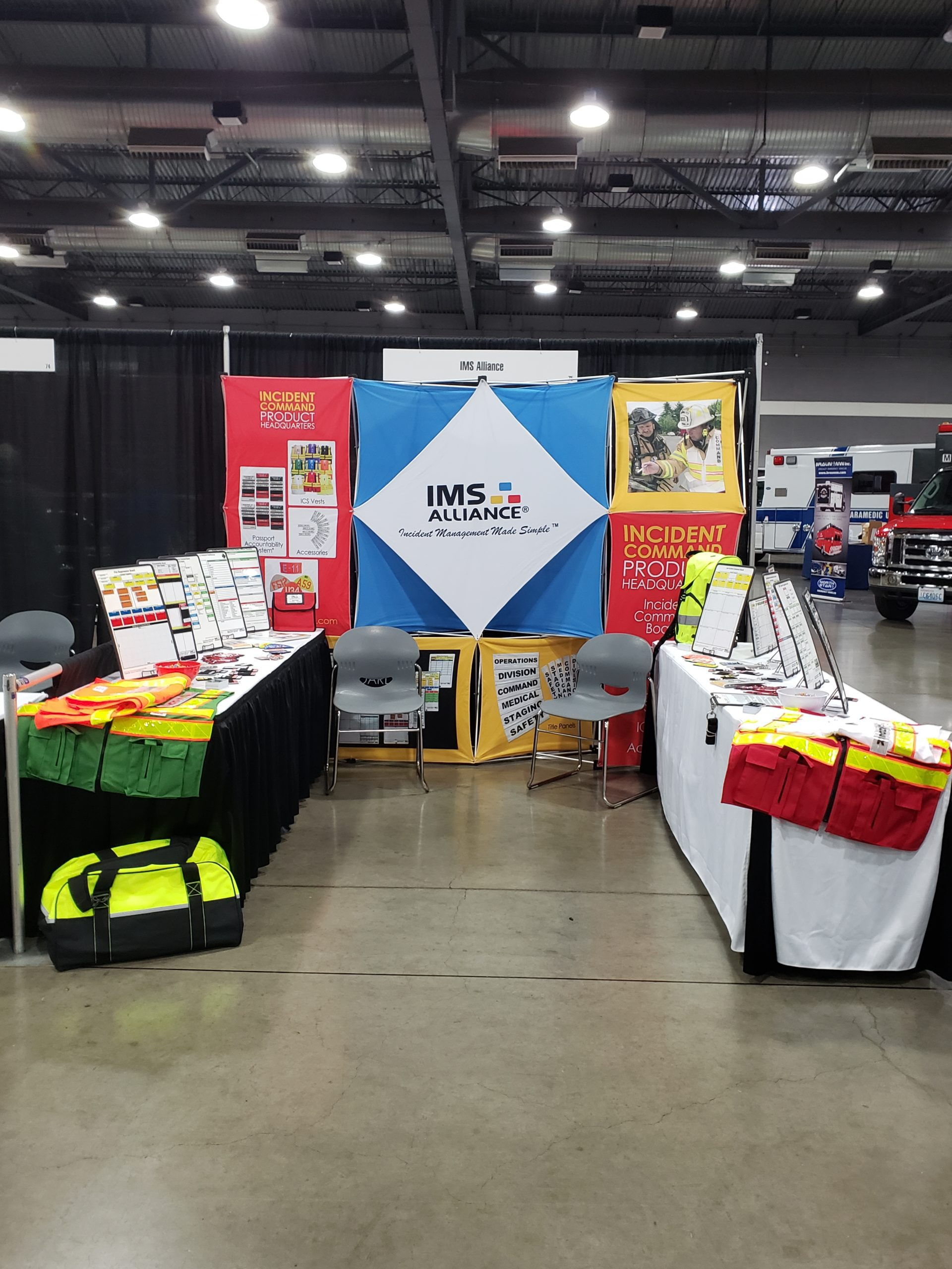 IMS Alliance Booth at NW Fire & Rescue