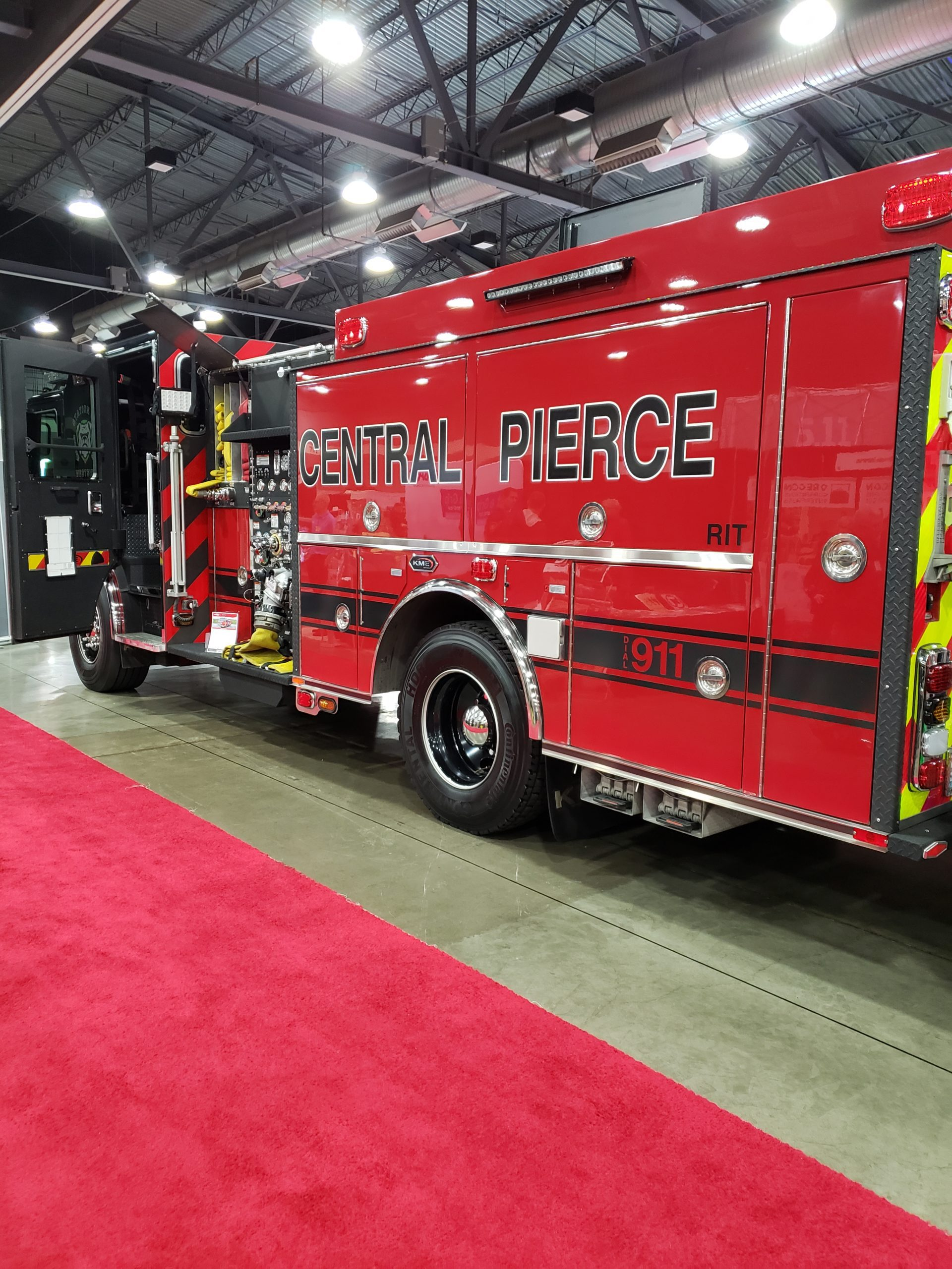 Central Pierce Fire Truck
