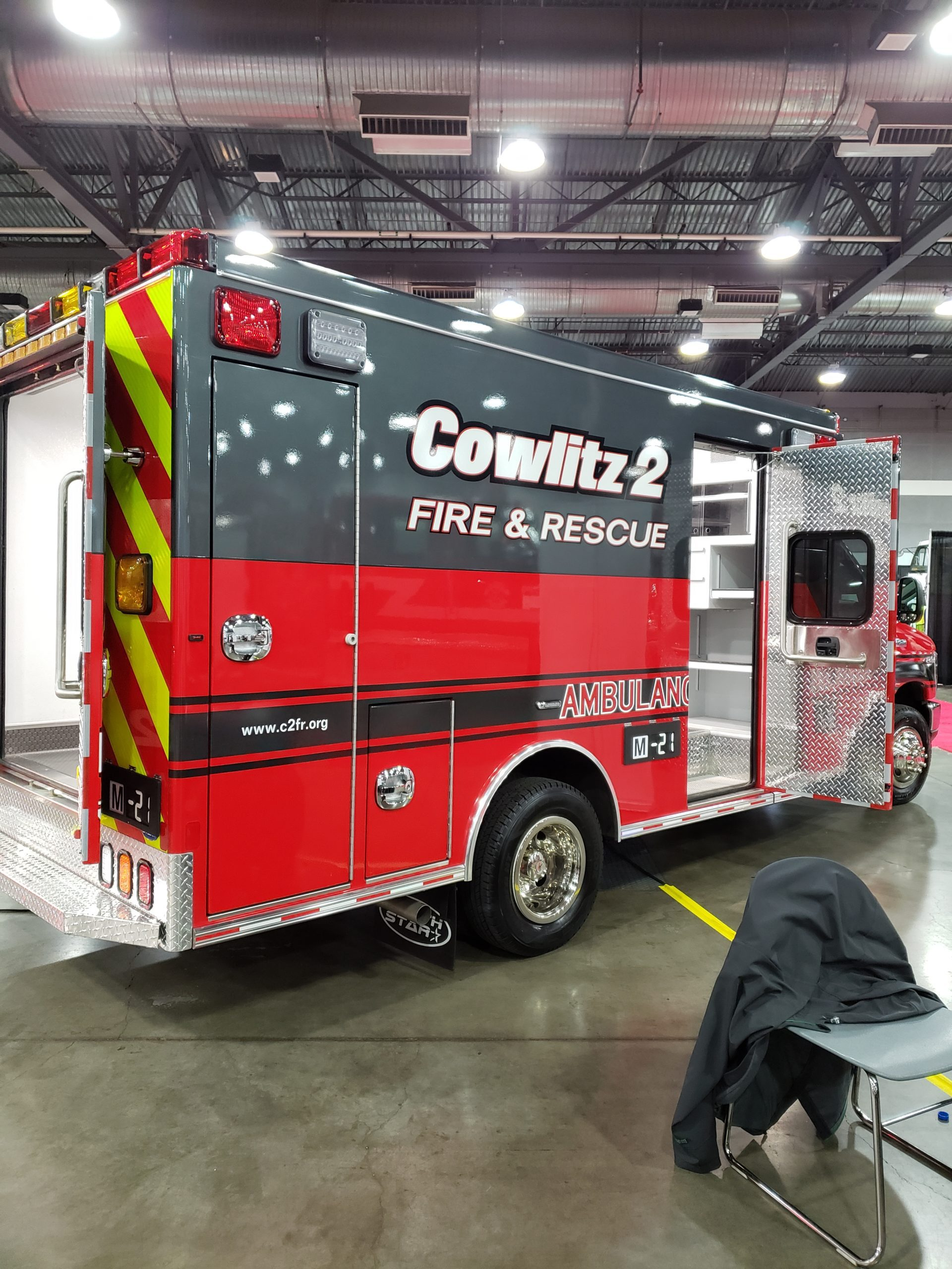 Cowlitz 2 Fire & Rescue Ambulance